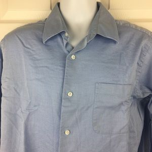 Men's Apt. 9 Blue Dress Shirt